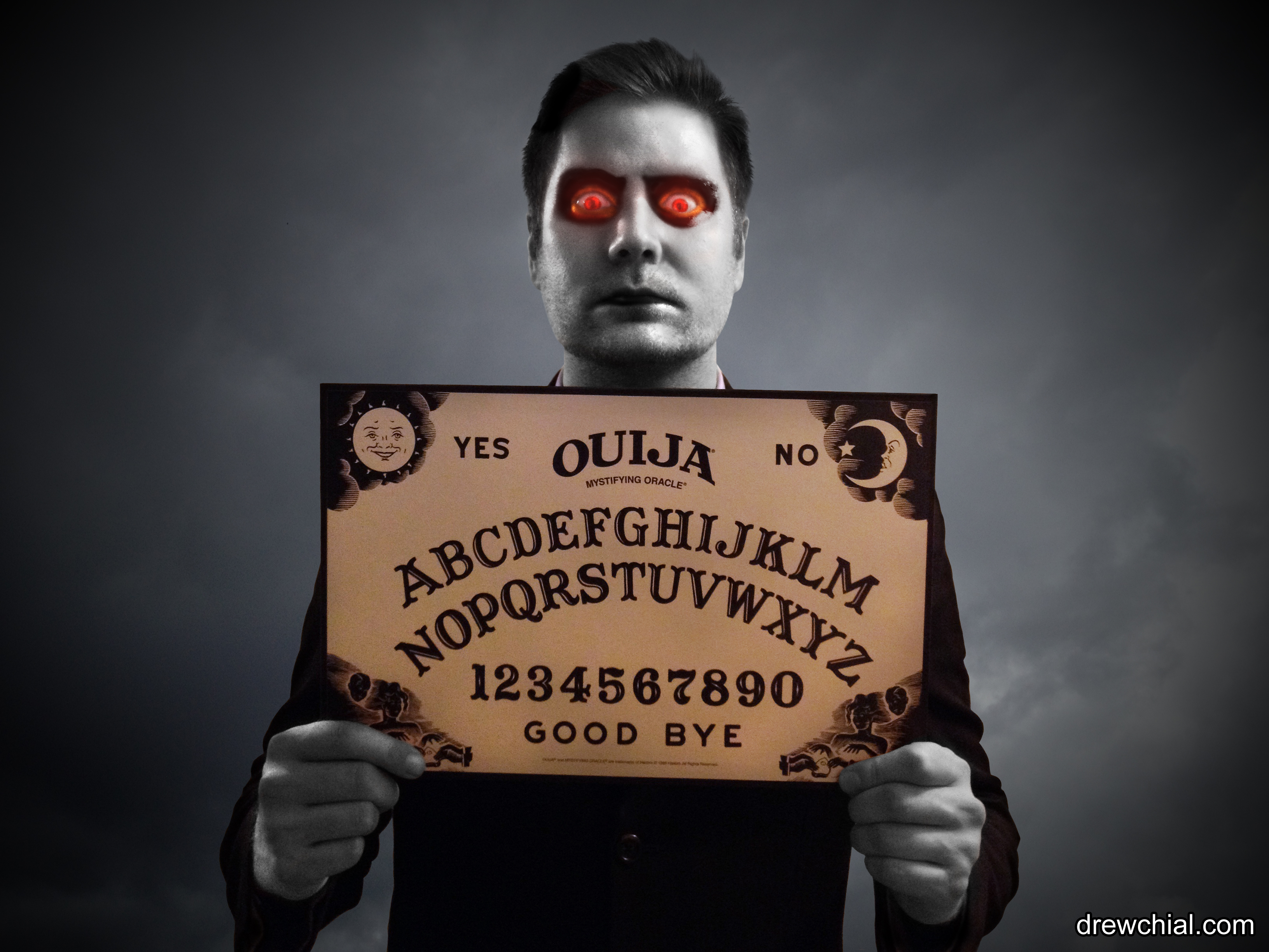 3 Ouija Board Mug Shot